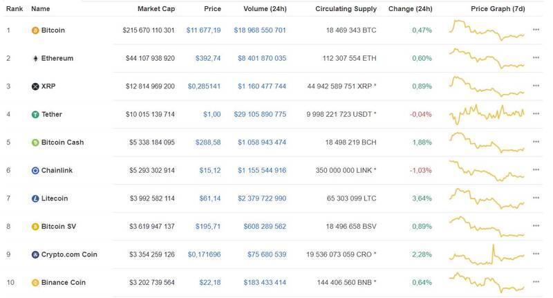 Инвесторы bitcoin дали прогноз движения курса криптовалюты