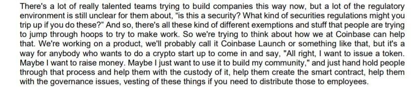 Coinbase займется выпуском токенов