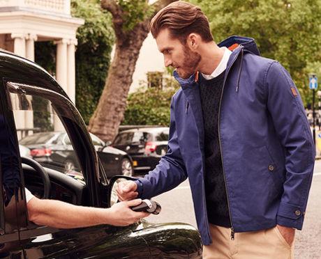 Куртка Lyle & Scott с функцией бесконтактной оплаты