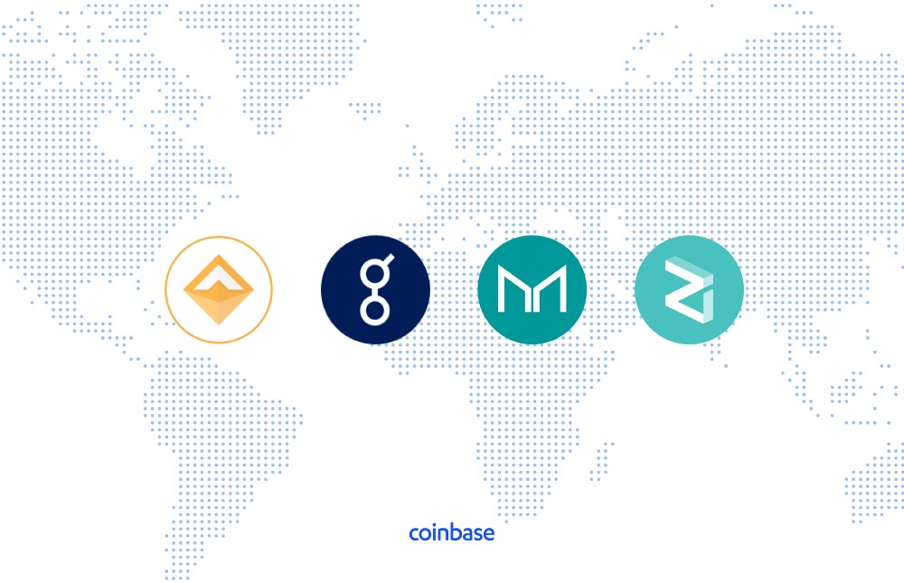 Токены Dai (DAI), Golem (GNT), Maker (MKR) и Zilliqa (ZIL), которые проходят листинг на Coinbase Pro