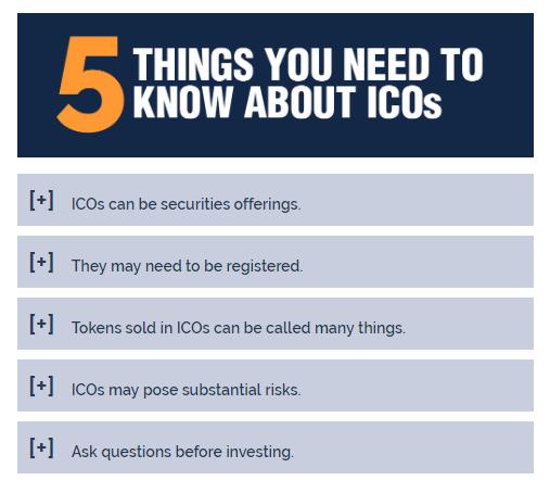 5 вещей об ICO