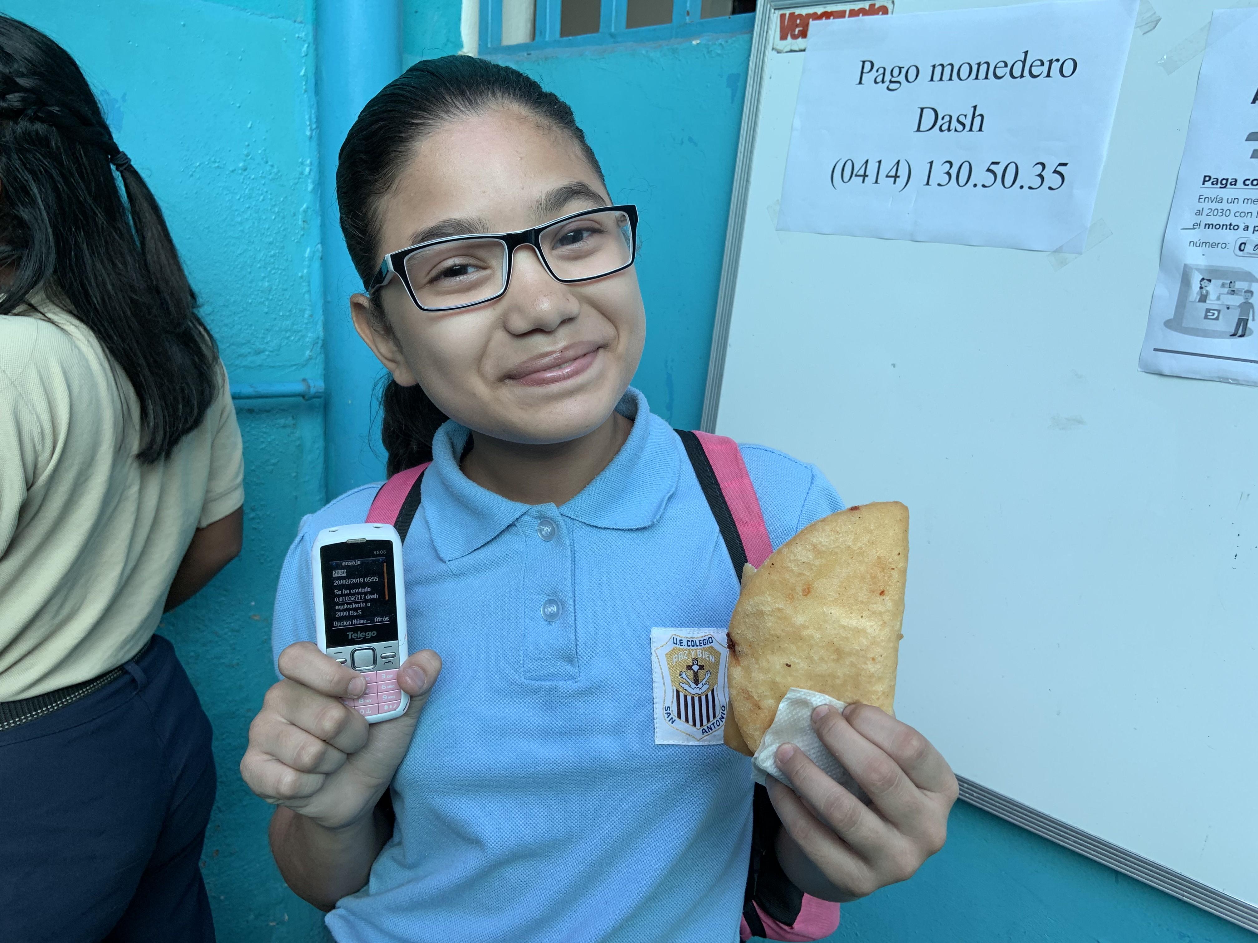 Dash накормит детей Венесуэлы