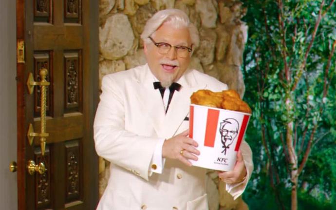 Основателт KFC Полковник Сандерс