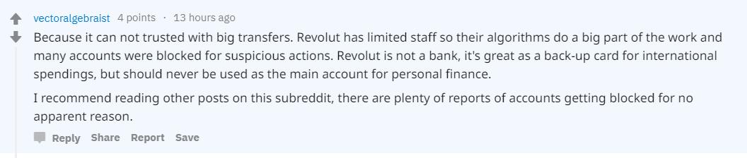 Financial Times удалили статью с обвинениями Revolut