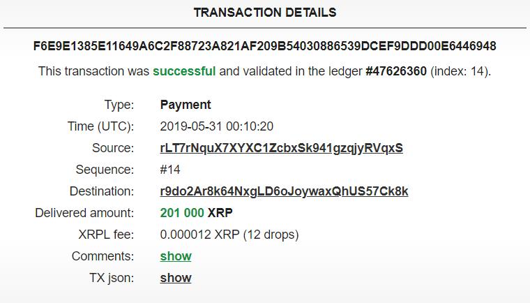 Хакеры украли почти $10 млн в XRP неизвестным способом
