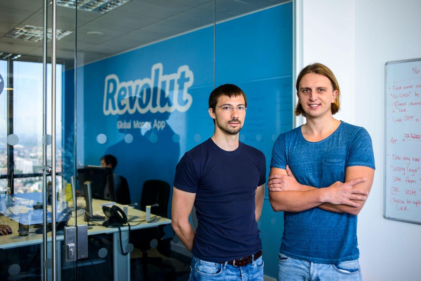Сооснователи Revolut Влад Яценко (слева) и Николай Сторонский