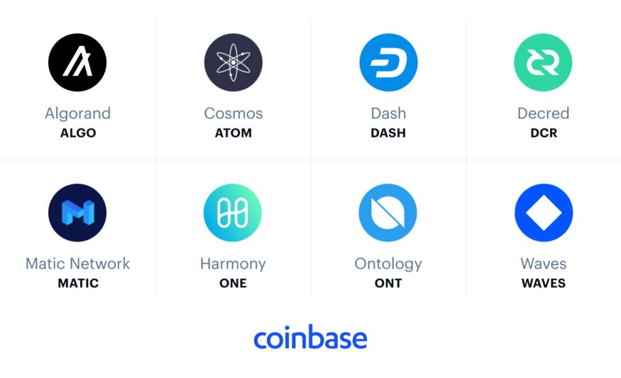 На Coinbase могут появиться DASH, Cosmos, Matic и еще 5 криптовалют
