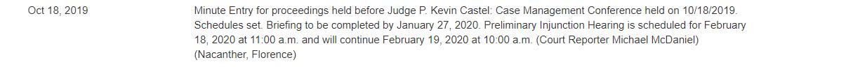 Судебное заседание по криптопроекту Павла Дурова состоится через 4 месяца