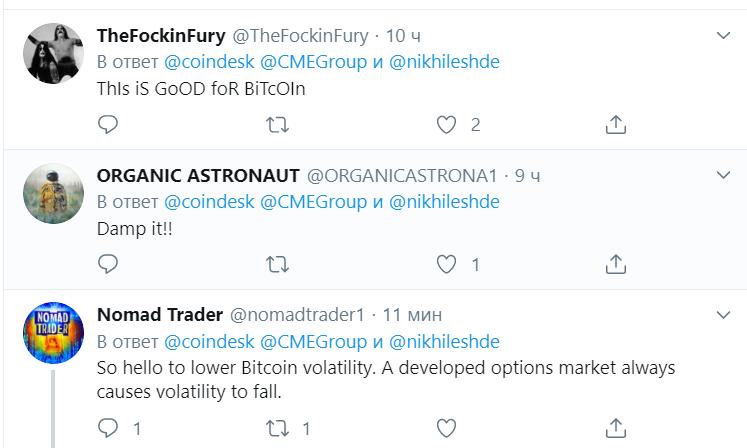 Чикагская товарная биржа раскрыла технические детали своих bitcoin-опционов