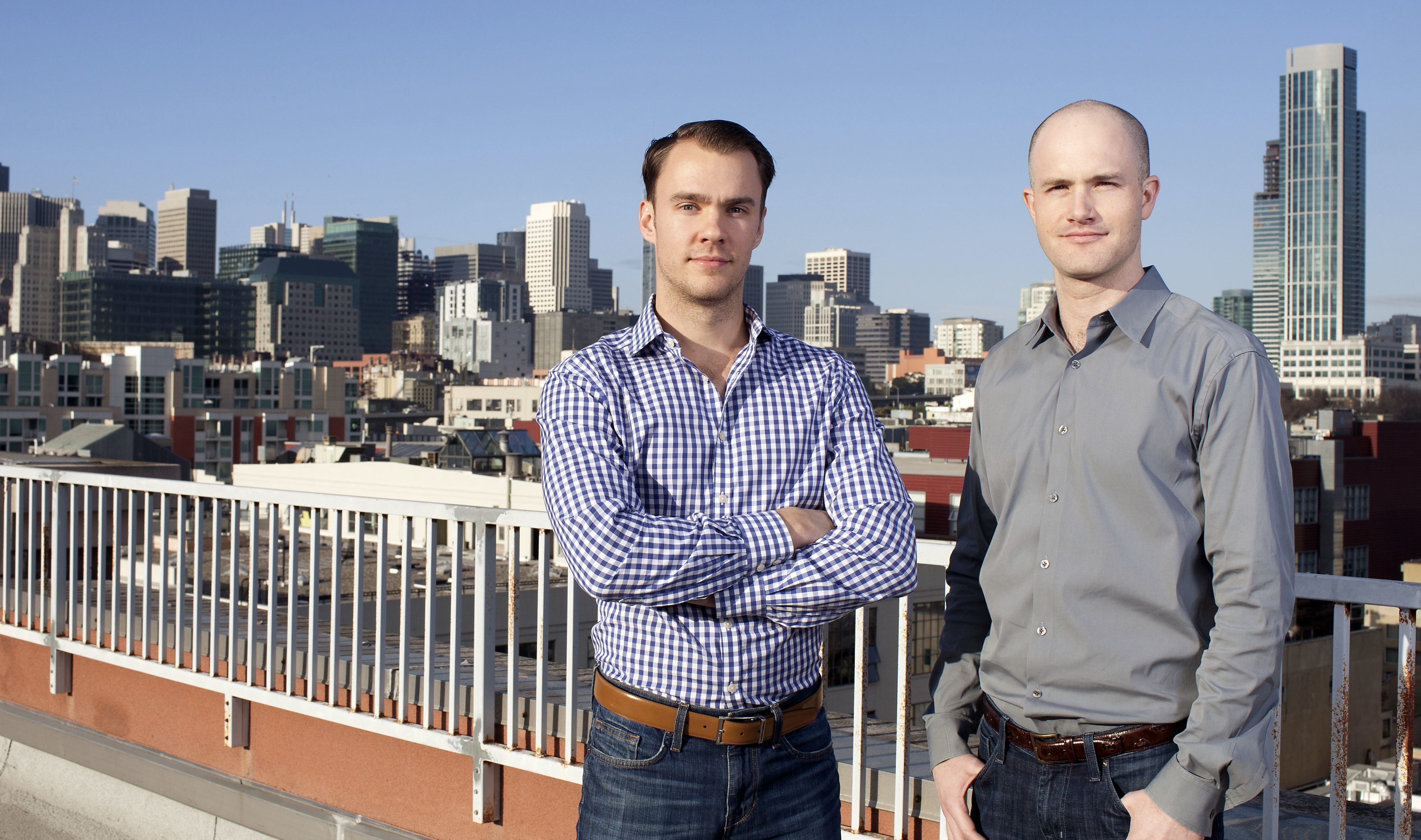coinbase founders