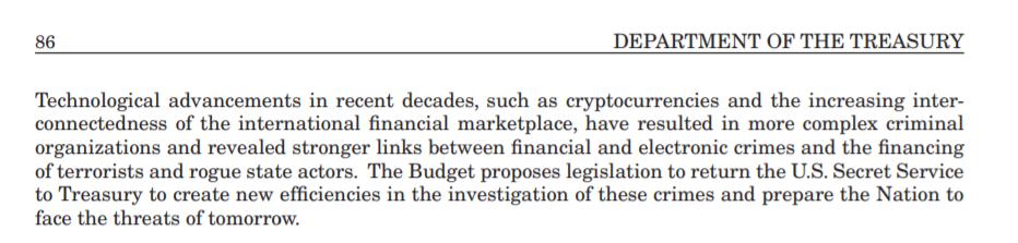 Контроль над криптовалютой в США хотят передать Секретной службе
