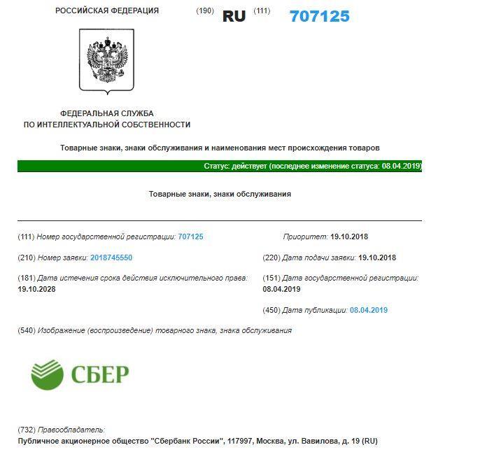 Роспатент зарегистрировал SberX – новый товарный знак Сбербанка