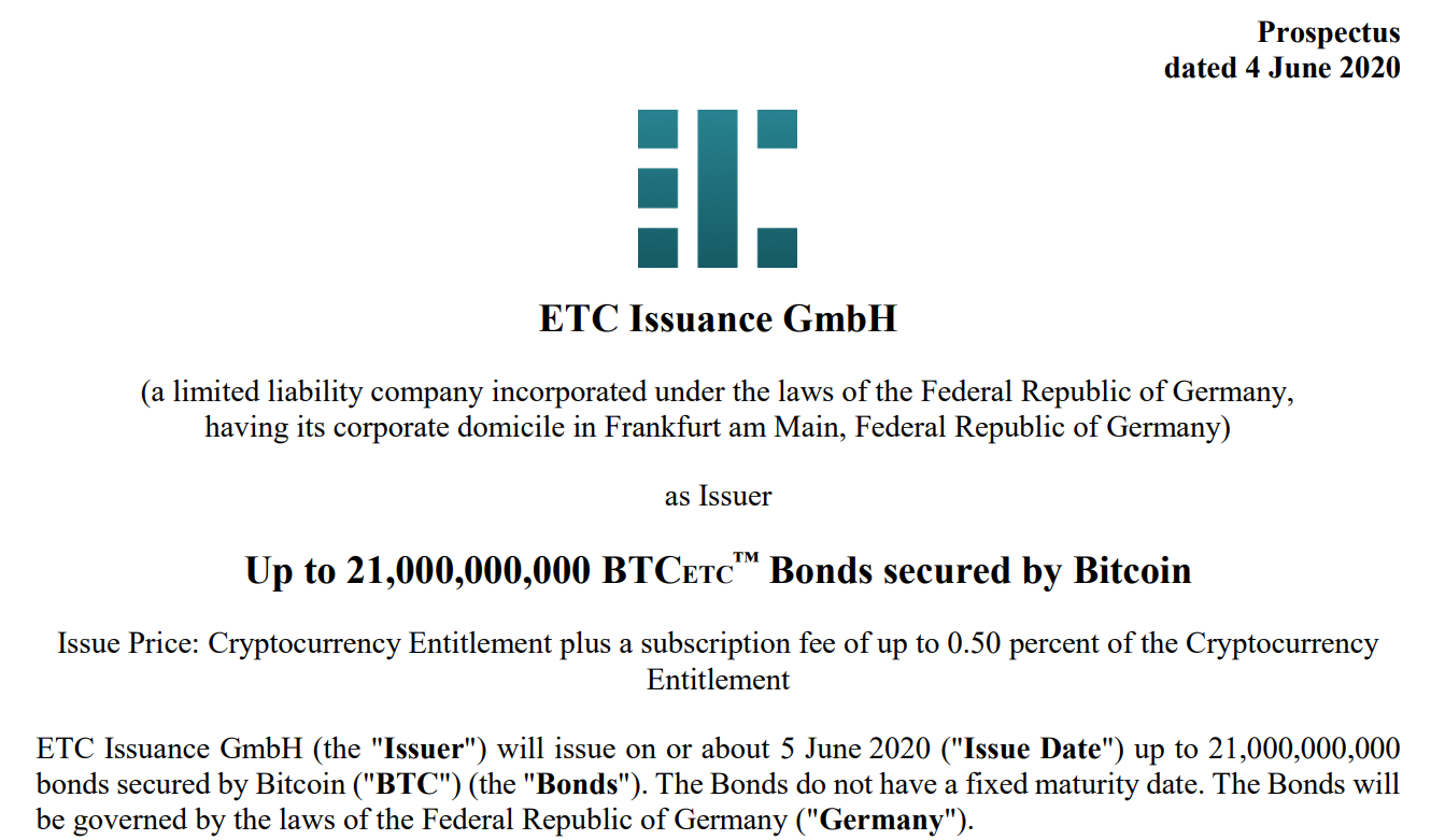 etc issuance